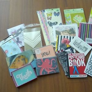 Lot of Stationary, Stickers & scrapbook paper